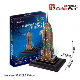 Puzzle 3D LED Empire State...
