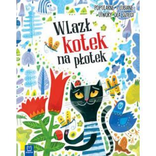 Książka Wlazł kotek na płotek (oprawa twarda) - AKSJOMAT
