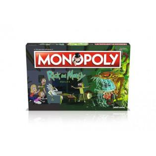 Monopoly - Rick and Morty 035163 WINNING MOVES - WINNING MOVES