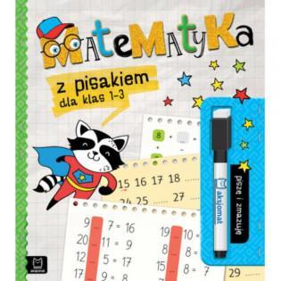 Książka Matematyka z pisakiem dla klas 1-3. Piszę i zmazuję - AKSJOMAT
