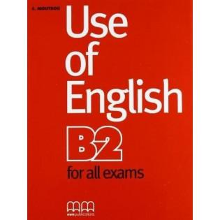 Use of English B2 for all...