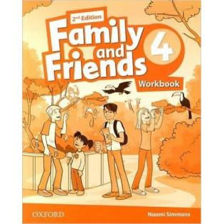 Family and Friends 2E 4 WB...