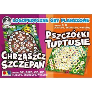 2 gry Chrząszcz Szczepan...