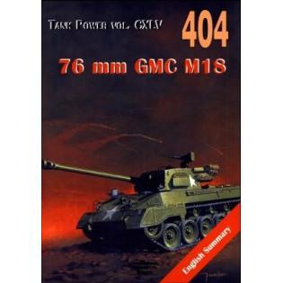 76 mm GMC M18. Tank Power...