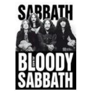 Sabbath Bloody Sabbath...