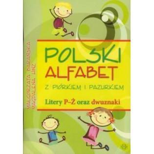 Polski alfabet z piórkiem i...