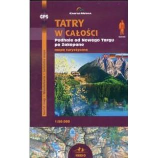 Mapa - Tatry w całości...