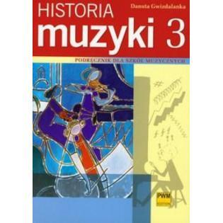 Historia muzyki 3 Podr. dla...