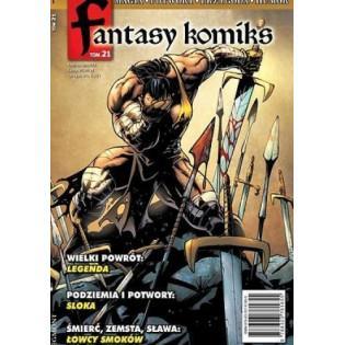 Fantasy komiks T.21 Egmont ---