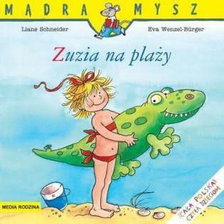 Mądra mysz - Zuzia na plaży...