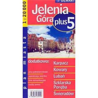 Plan Miasta Jelenia Góra...