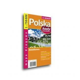 Mapa drogowa POLSKA + Kody...
