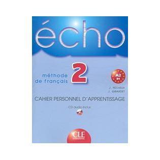 Echo 2 cahier personnel...