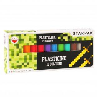 I PLASTELINA 12KOL STK PIXEL GAME PUD 1/40