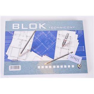BLOK TECHNICZNY A4/10K BIA Q POLG FOL A 10