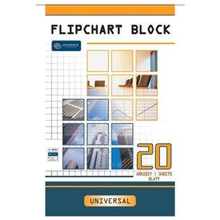 BLOK DO FLIPCHARTA 640X1000/20K GLAD INT