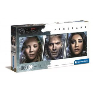 -PUZZLE 1000EL CLM 39593 PANORAM THE WITCHER PUD