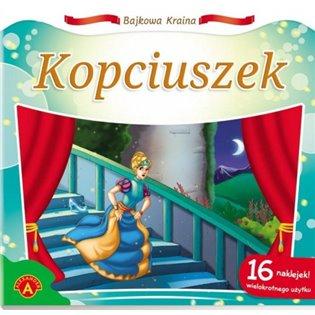 KSIAZECZKA 200X190 BAJKOWA KRAINA ALX KOPCIUSZEK