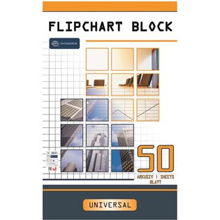 BLOK DO FLIPCHARTA 640X1000/50K GLAD INT