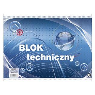 BLOK TECHNICZNY A3/10K BIA Q POLG FOL A 10