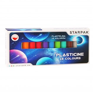 I PLASTELINA 12KOL STK SPACE PUD 1/40