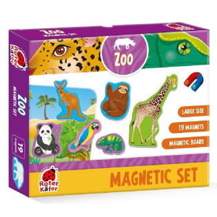 Zestaw magnesów. Zoo Roter...