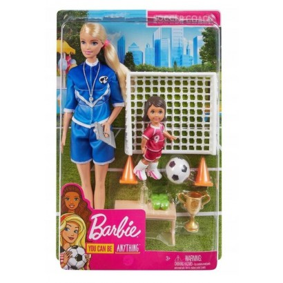 Barbie Zestaw Trenerka...