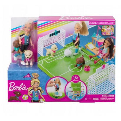 Barbie Chelsea + boisko do...