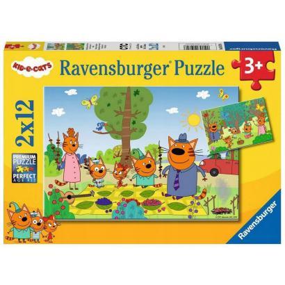 Puzzle 2x12el Kot-O-Ciaki...
