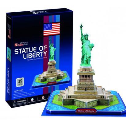 Puzzle 3D Statua Wolności ---: