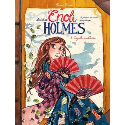 Śledztwa Enoli Holmes T.4...