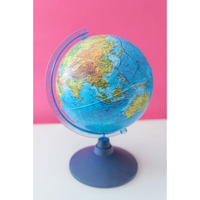 Globus 21cm z mapą fizyczną i aplikacją AR 01909