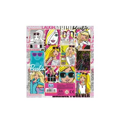 Naklejki kwadrat StickerBoo 16X16 Barbie 266181