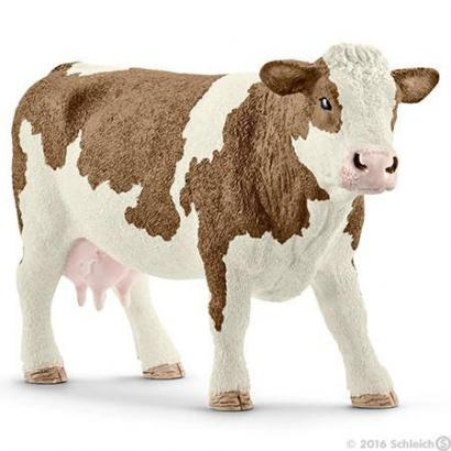 Krowa rasy siementalskiej ---: