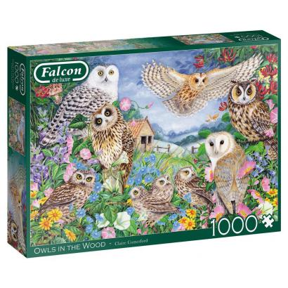 Puzzle 1000 Falcon Sowy G3