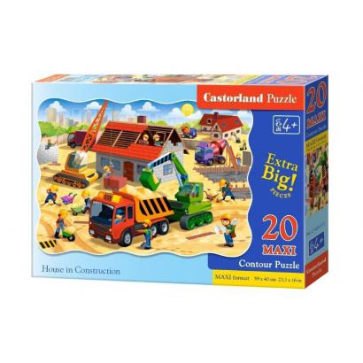 Puzzle 20 maxi - House in...