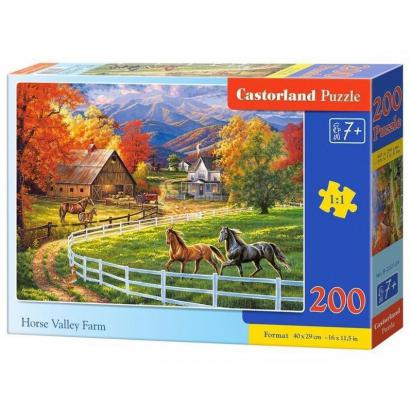 Puzzle 200 Horse Valley...