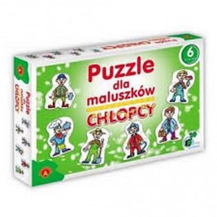 -PUZZLE 2,3,4,5,6,7EL ALX DLA MALUSZKOW-CHLOPCY