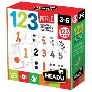 Puzzle cyferki 21093 - RUSSELL