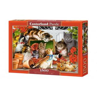 Puzzle 1500 Kittens play...