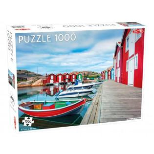 Puzzle 1000 Fishing Huts in...