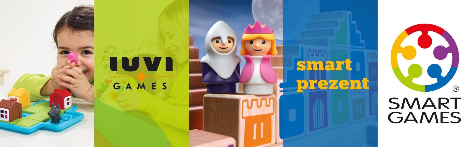 Smart Games od IUVI Games - Gry jako idealny prezent